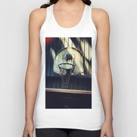 vancouver Tank Tops featuring Vancouver Grizzlies by Wanderlust Fhotos
