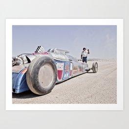 World of Speed 5 Art Print