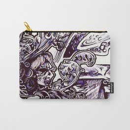 Baroque Smoke Carry-All Pouch