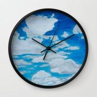 brooklyn Wall Clocks featuring Brooklyn by Tara Andris