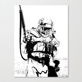 The Killing Football Fields Canvas Print