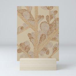 earthy swirls Mini Art Print