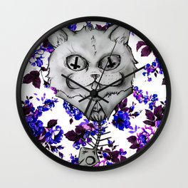 Mr. Whiskers Wall Clock