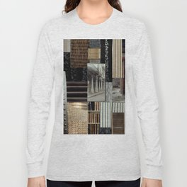 Collage - Lines Long Sleeve T-shirt