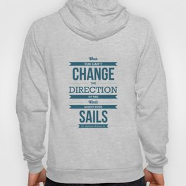 Lab No. 4 - Positive and Motivating Quotes Typography poster Hoody