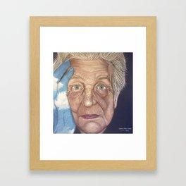 Time's captive Framed Art Print