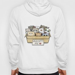 Box full of cats for adoption Hoody