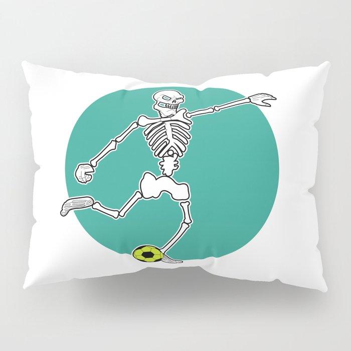 Calavera Soccer Pillow Sham
