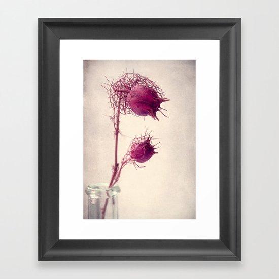 bristly Framed Art Print