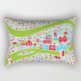 Wasserburg Poster Rectangular Pillow