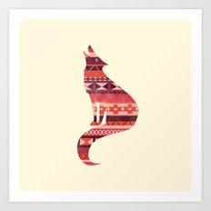 Native Song Art Print