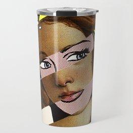 Botticelli's Venus & Roy Lichtenstein's M...Maybe Travel Mug