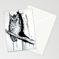 O W L Stationery Cards