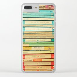 Birds on Parade Clear iPhone Case
