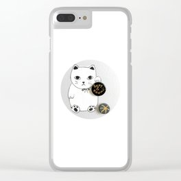 Lucky and Kawaii Clear iPhone Case