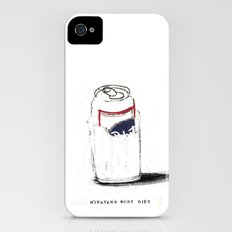 HIPSTERSMUSTDIET Slim Case iPhone (4, 4s)