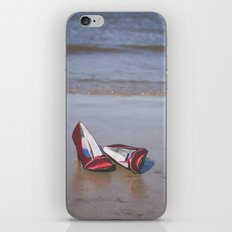 Red High-Heeled Shoes iPhone & iPod Skin