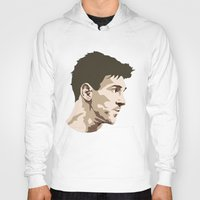 messi Hoodies featuring Messi by The World Cup Draw