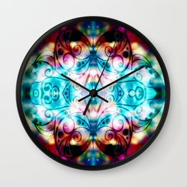 Popping Wall Clock