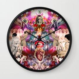 Intergalactic Orgasm Wall Clock