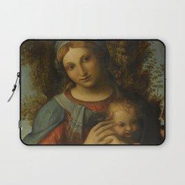 "Antonio Allegri da Correggio ""Madonna and Child with infant Saint John the Baptist"" Laptop Sleeve"