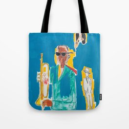 JAZZ Basquiat Tote Bag
