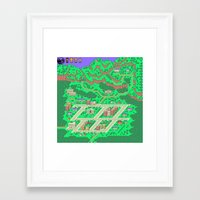 earthbound Framed Art Prints featuring Earthbound by Fred Vilair