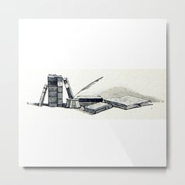 Write Metal Print
