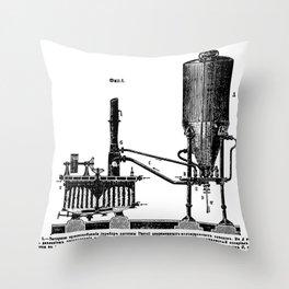 Brockhaus-Efron Distillery 1 Throw Pillow