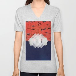 Stitch in Time - cool Unisex V-Neck