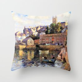Abbey Slip - Stanhope Alexander Forbes Throw Pillow