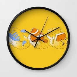 Feeling like sushi :) Wall Clock