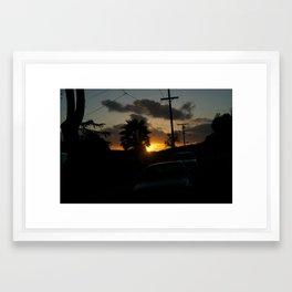 California Sun Framed Art Print