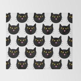 Cat's Eyes Throw Blanket