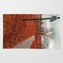 Bloody Red Lane Rug