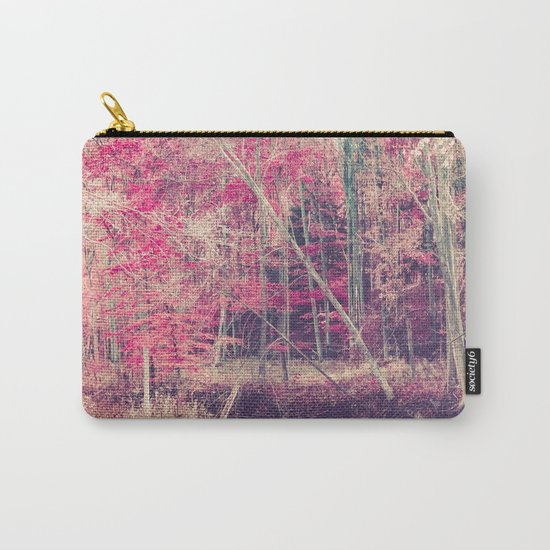 Rasberry Carry-All Pouch