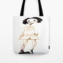 haloween girl Tote Bag