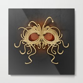 Flying Spaghetti Monster Metal Print