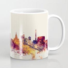 Lansing Michigan Skyline Coffee Mug