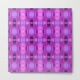 "Abstract ""Graffiti"" Pattern in pink Metal Print"