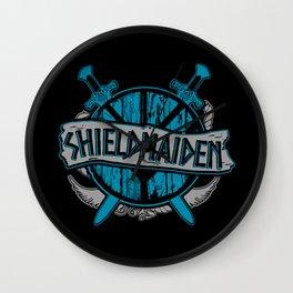 shieldmaiden #3 Wall Clock