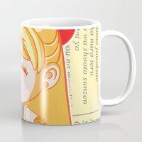 sailor venus Mugs featuring Sailor Venus by strawberryquiche