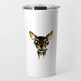 Cute chihuahua dog Travel Mug