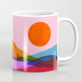Abstraction_OCEAN_Beach_Minimalism_001 Coffee Mug