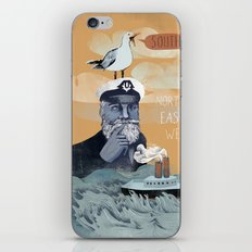 The Captains Lost Again  iPhone & iPod Skin
