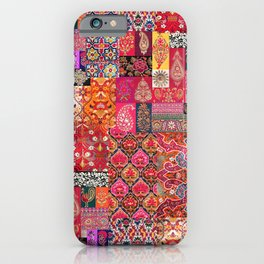 -A35- Traditional Colored Moroccan Artwork. iPhone Case