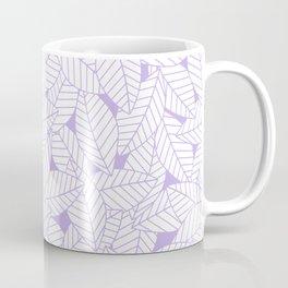 Leaves in Lavender Coffee Mug