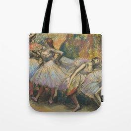 """Edgar Degas """"Dancers"""" Tote Bag"""