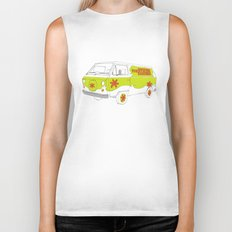 The Mystery Machine Biker Tank