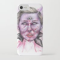 miley iPhone & iPod Cases featuring Miley by Vvaanniiee